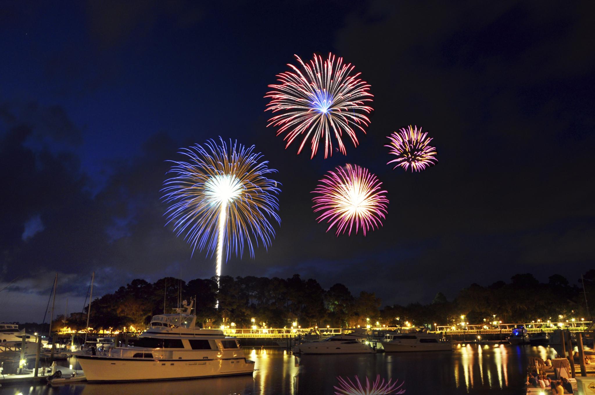 shelter cove harbourfest fireworks